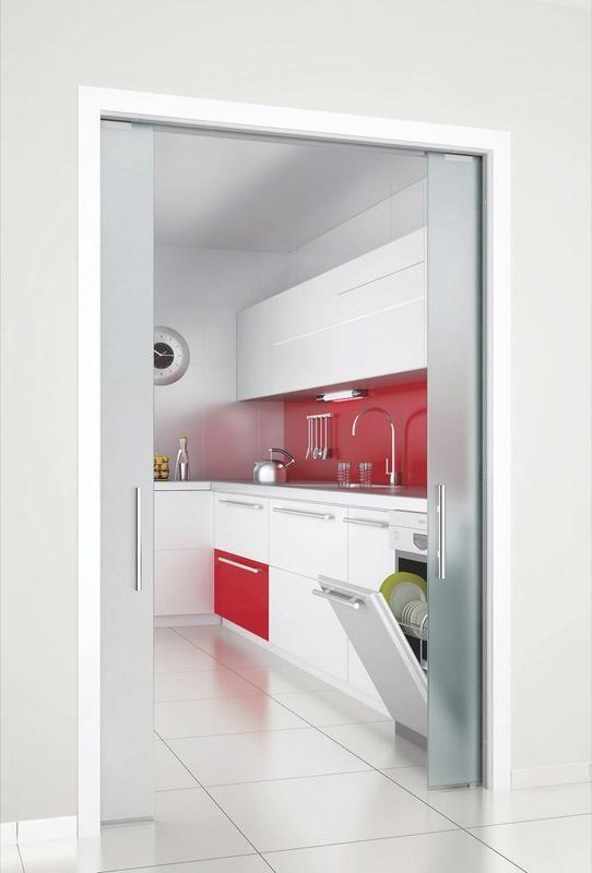 cocina de color rojo tarragona