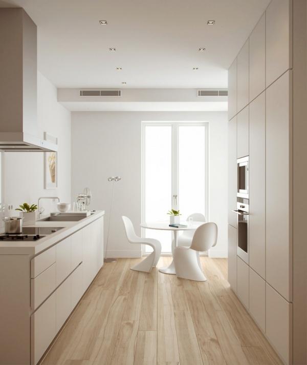 Reformar la cocina los mejores 10 consejos tiles - Suelos para cocinas blancas ...