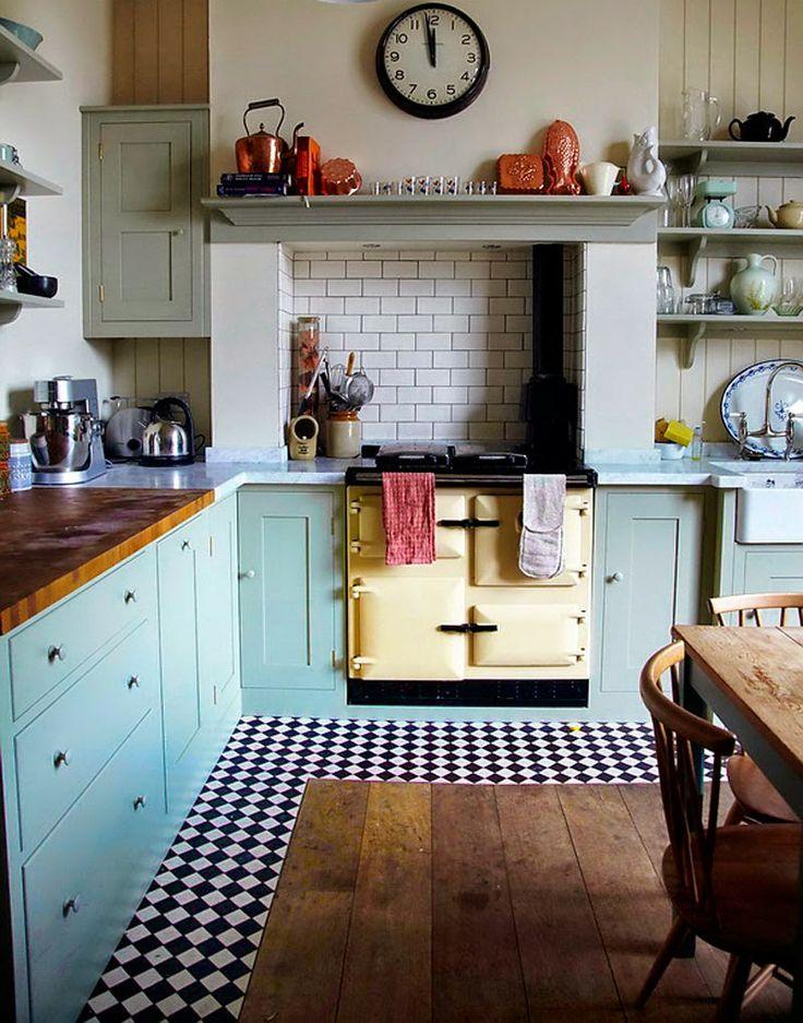 reforma de cocina vintage en tarragona